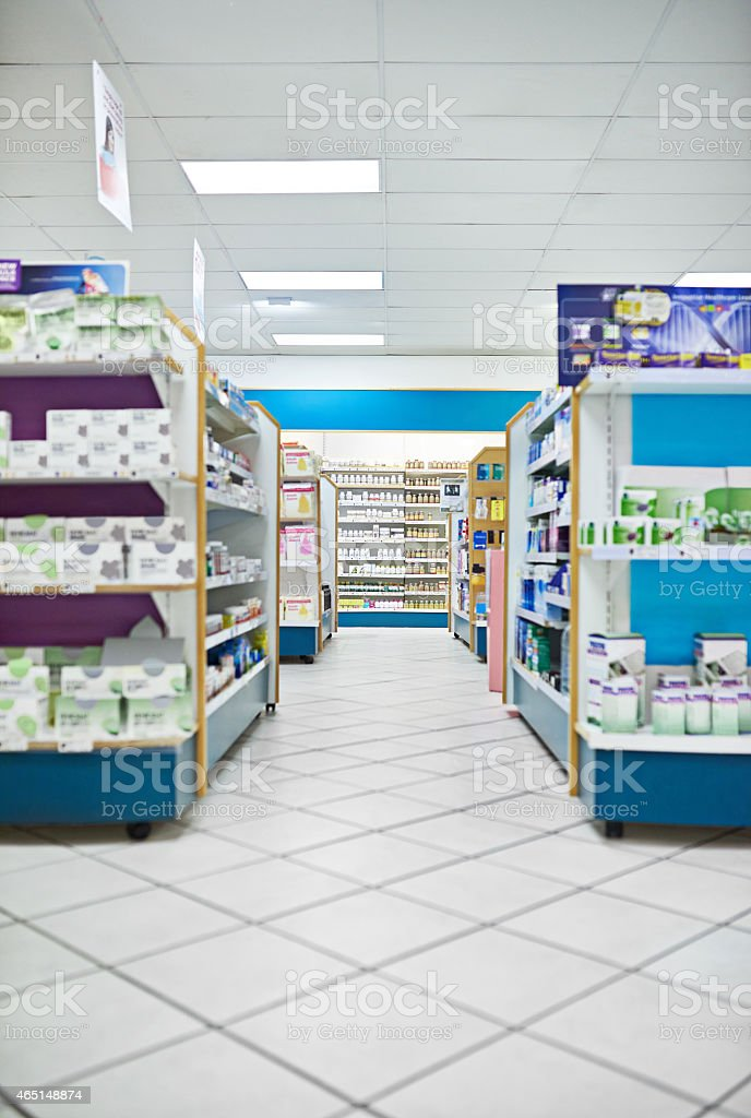 From over the counter to prescriptions... stock photo