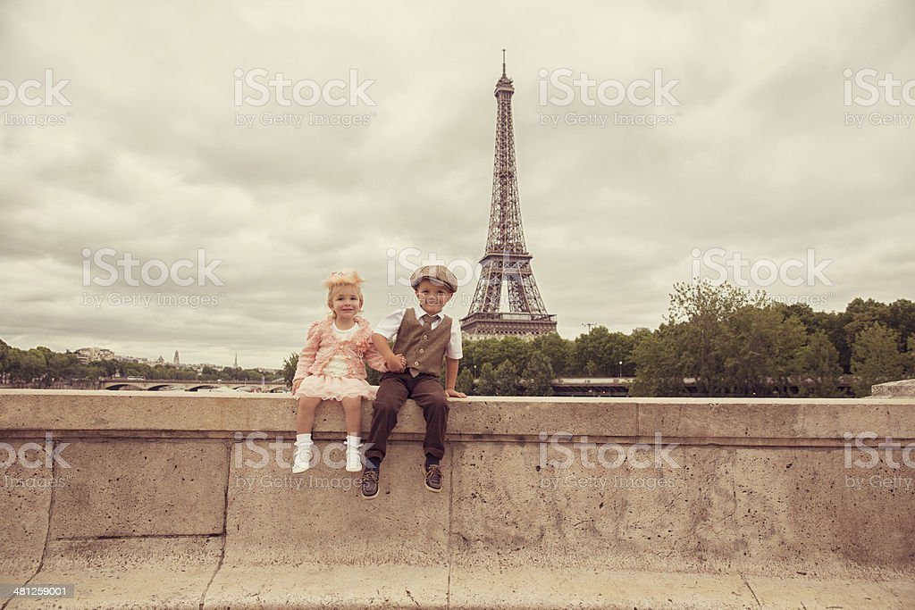 From Paris with Love stock photo