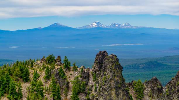from peak to peak - góry kaskadowe zdjęcia i obrazy z banku zdjęć