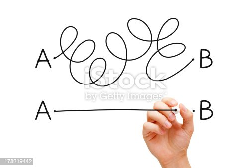 istock From Point A to B 178219442