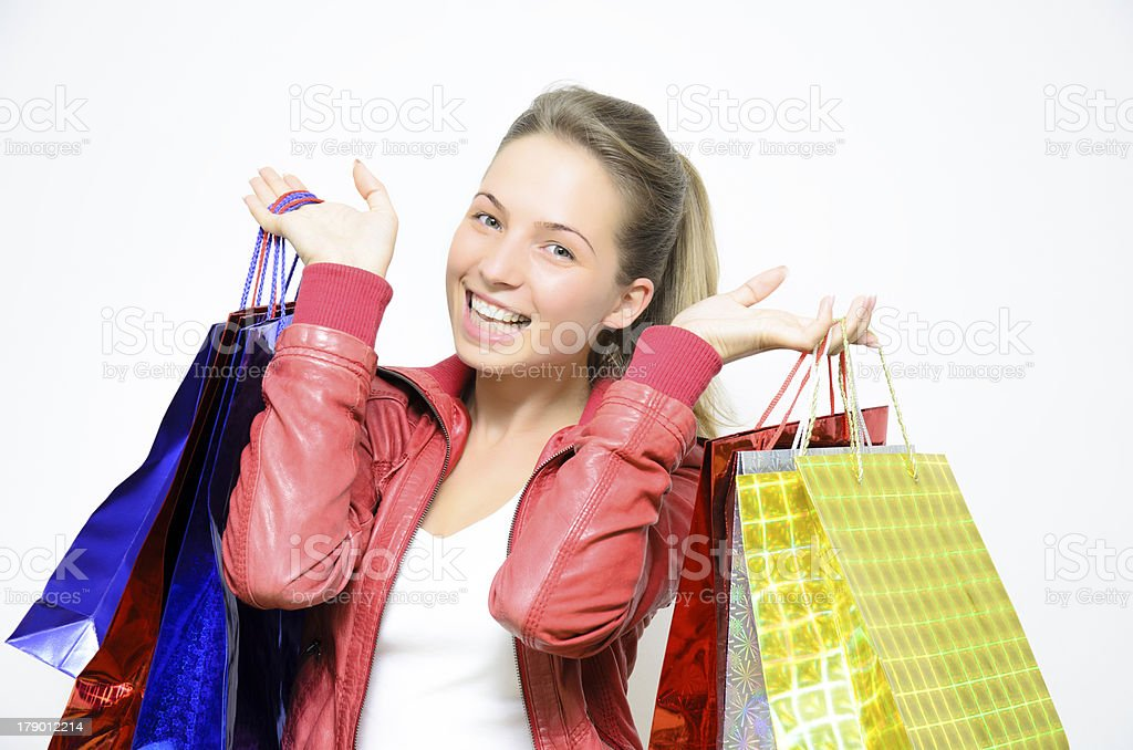 From shopping royalty-free stock photo