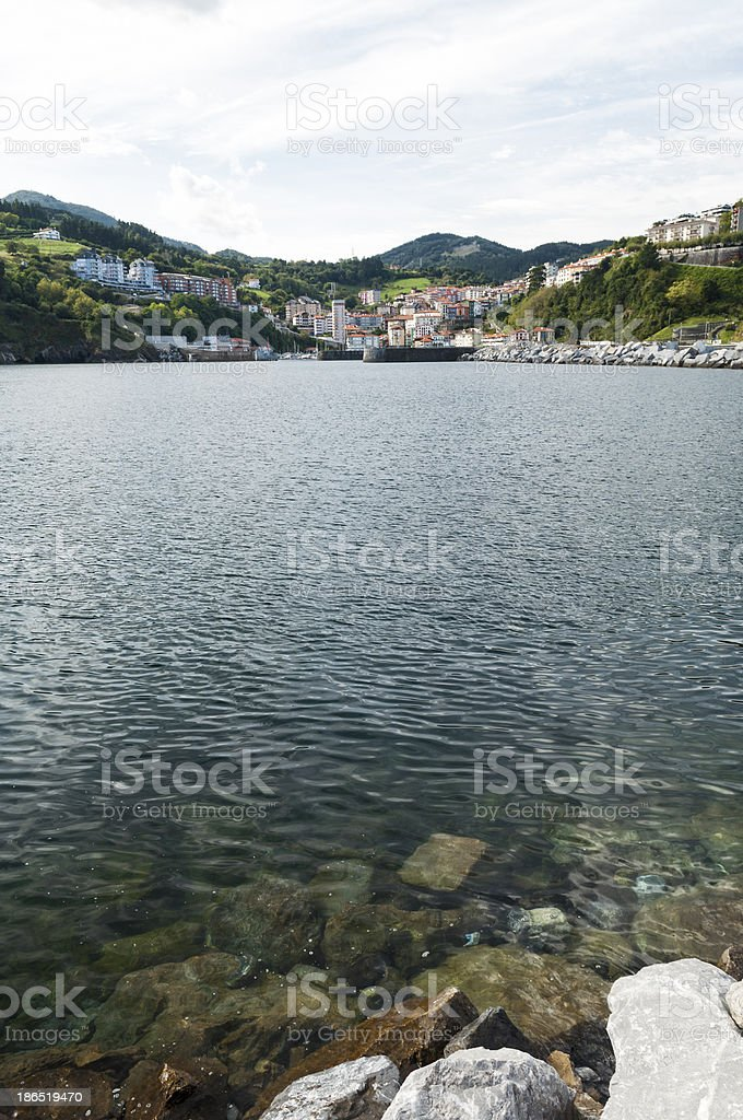 From shore royalty-free stock photo