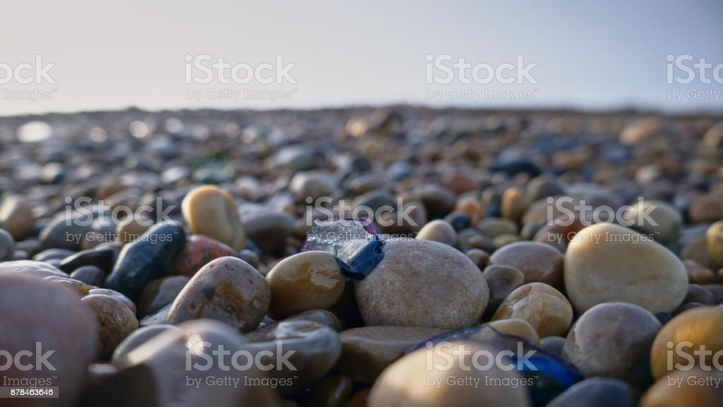 from Stones to sand - Royalty-free Beach Stock Photo