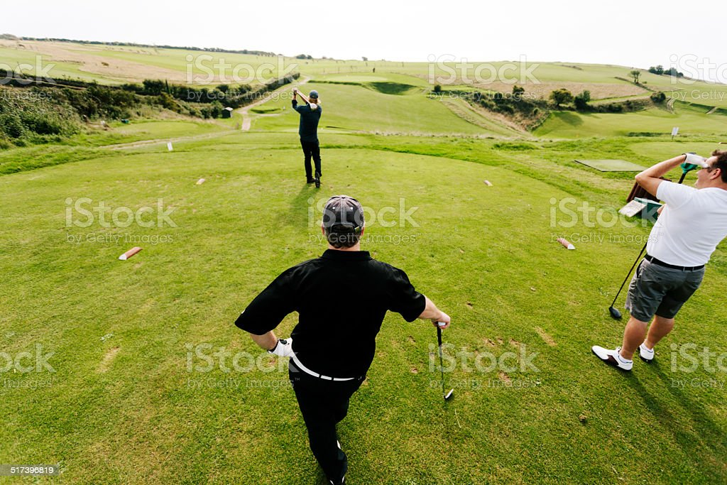 From the 7th Tee stock photo