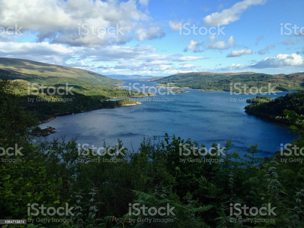 From the Loch to the Sea stock photo