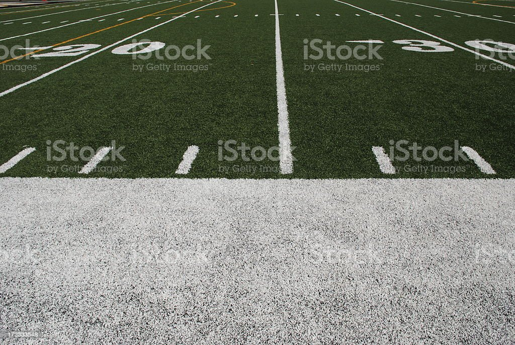From the Sidelines royalty-free stock photo
