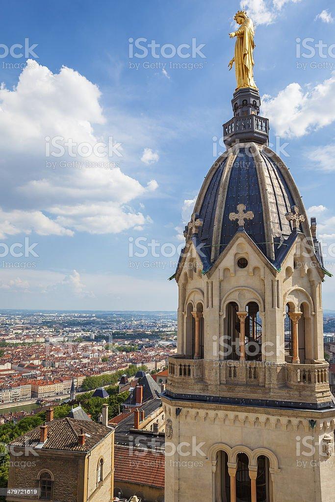 Depuis la Basilique Notre-Dame-de-Fourvière - Photo