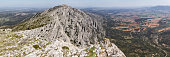 The Sainte-Victoire mountain is a limestone massif in the south of France, in the Provence-Alpes-Côte d'Azur region.