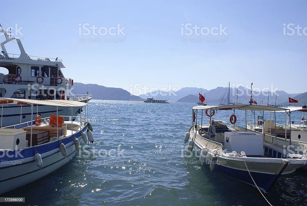 Desde Riviera turco foto de stock libre de derechos