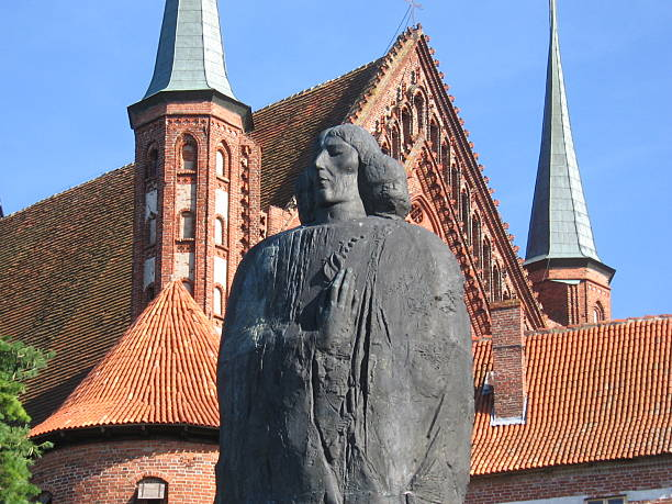 Frombork Cathedra with a statue of Copernicus