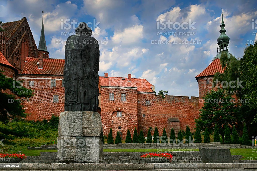 Frombork  Nicolaus Copernicus stock photo