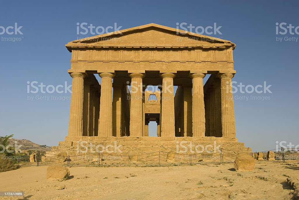 Front Aspect of temple royalty-free stock photo