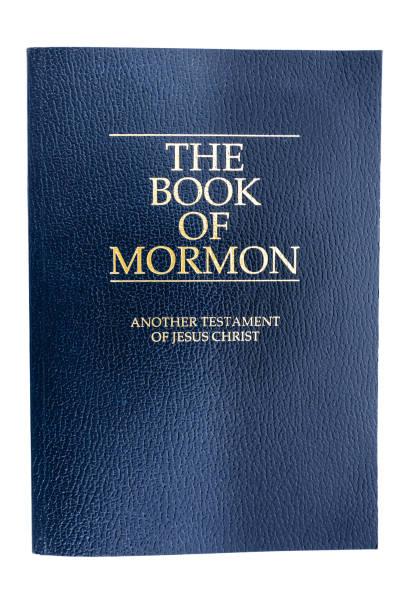 Titelseite des Buches Mormon (Ausschnitt) – Foto