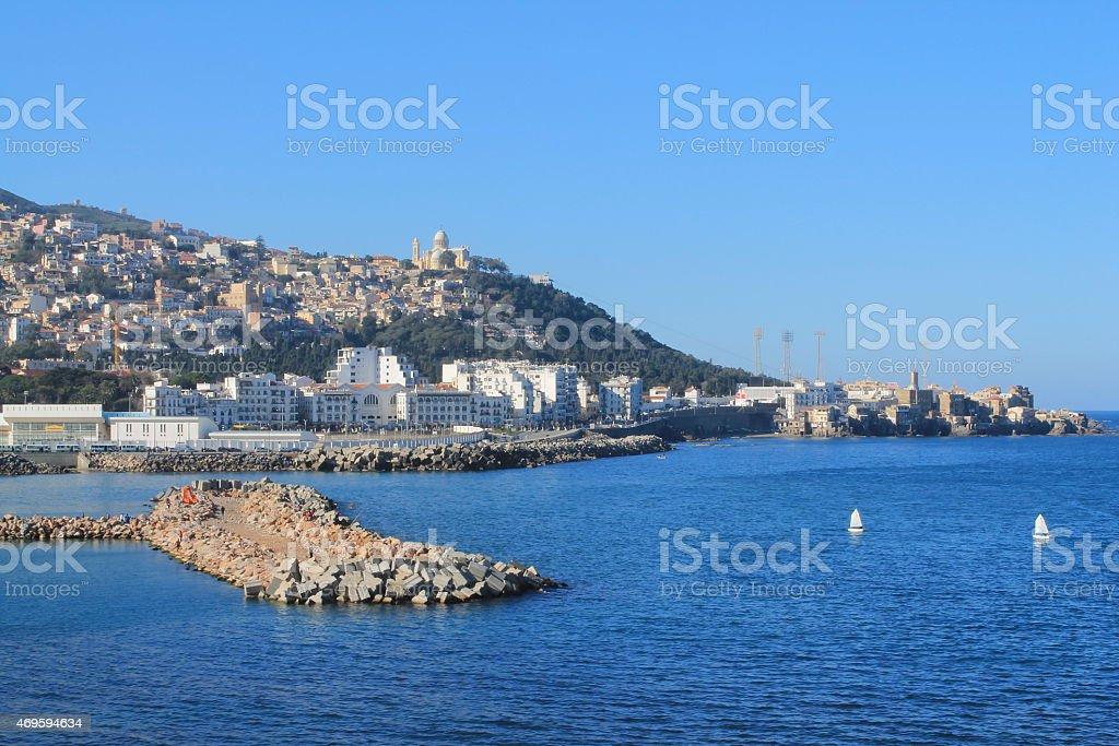 Front de mer de Bab El de Oued à Alger, Algérie - Photo