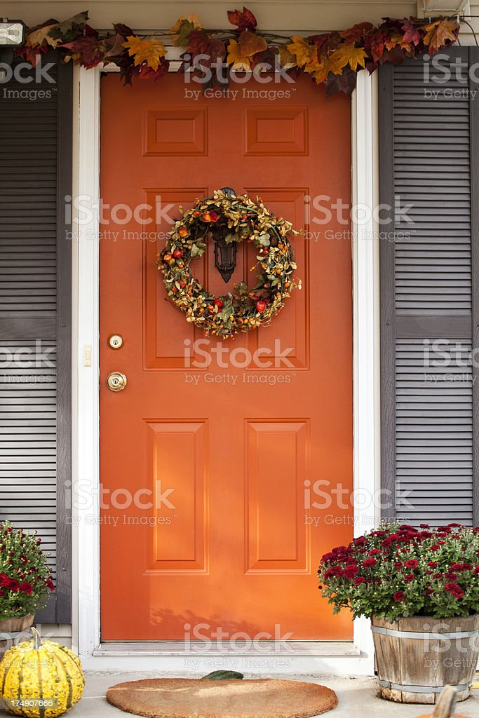 Tür Dekorative Riff – Foto