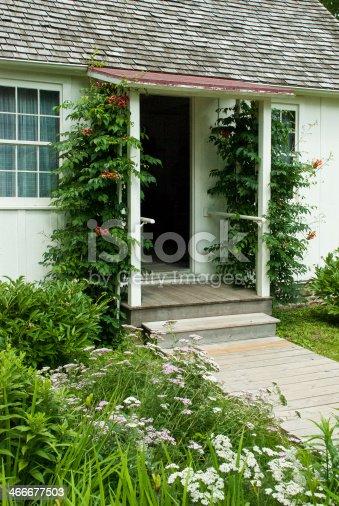 Front Door Herbert Hoover Birthplace West Branch Iowa