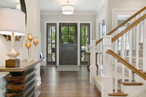 Wonderful decor and detail in newly built home