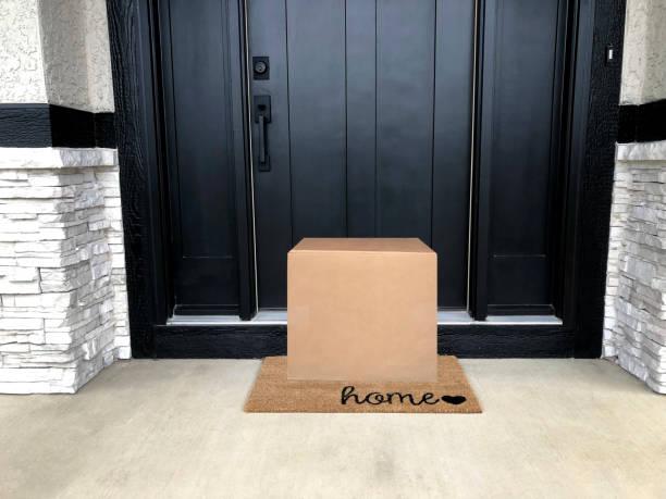 Haustür Paket – Foto