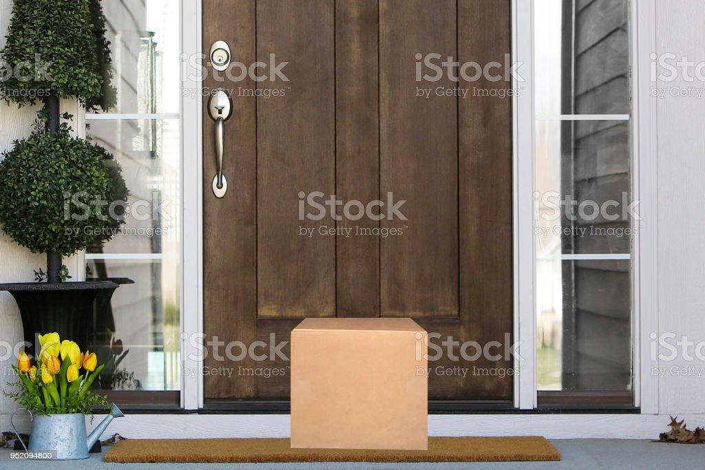 Paquete de puerta - foto de stock