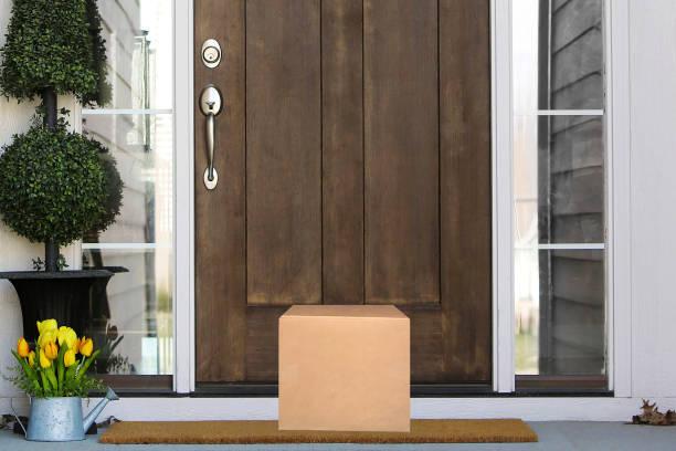 Front Door Package beautiful part of a wood door with package front door stock pictures, royalty-free photos & images