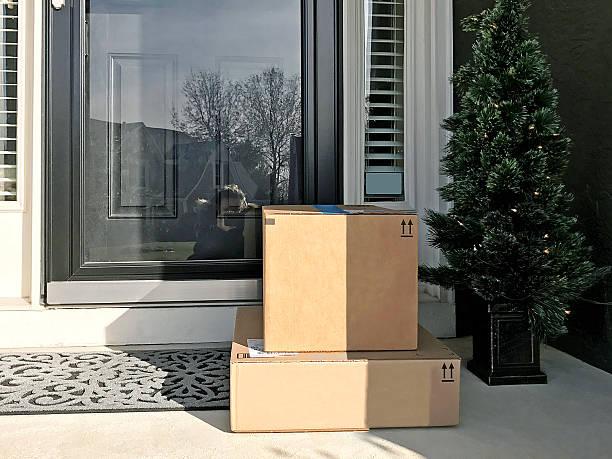 Front Door Packages - Photo