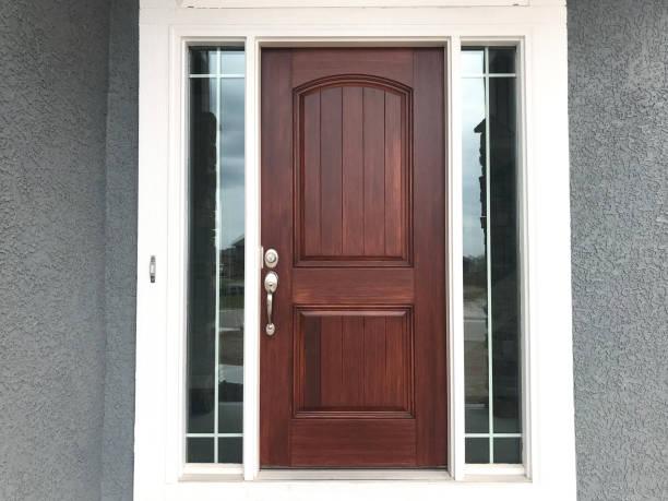 Front Door wooden front door front door stock pictures, royalty-free photos & images