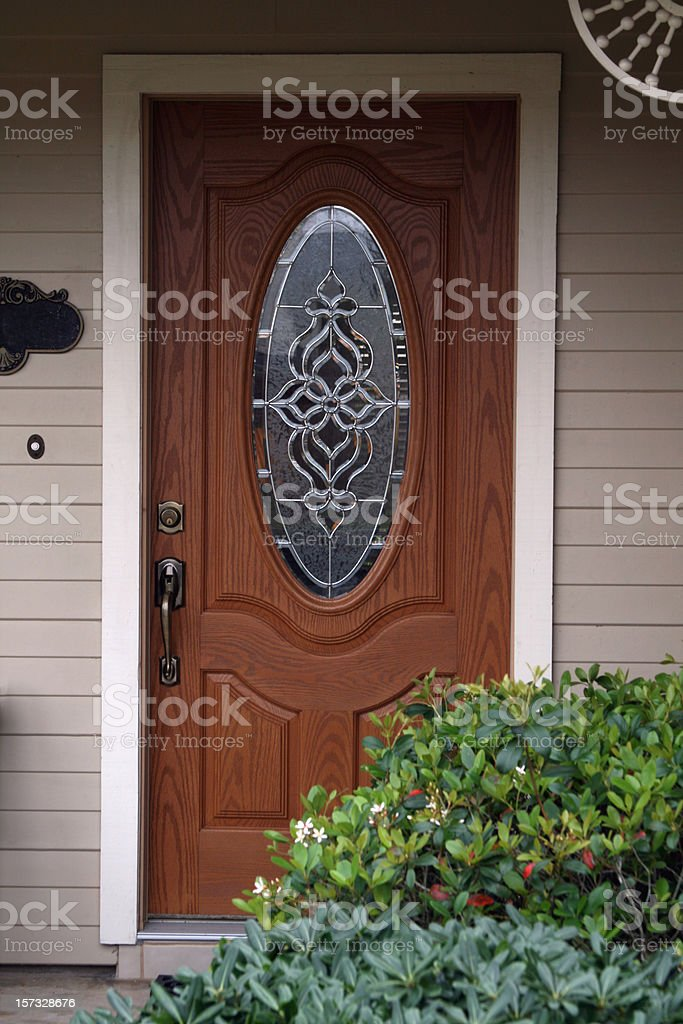 Front Door royalty-free stock photo