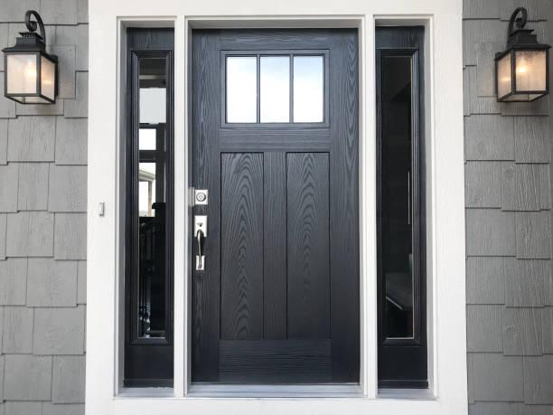 Front Door modern front door front door stock pictures, royalty-free photos & images