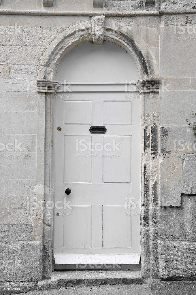 Front entrée photo libre de droits