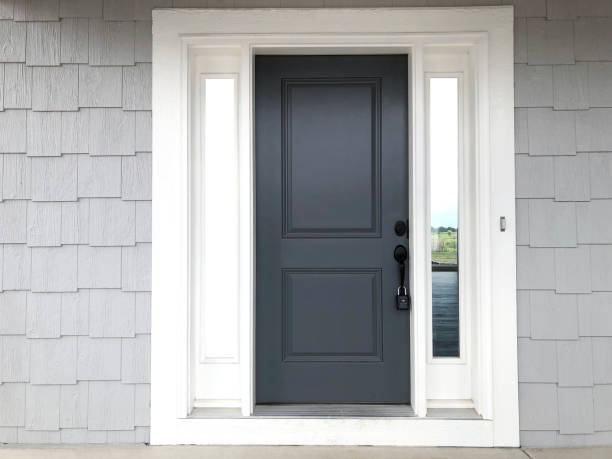 Front Door Shingle Siding front door shingle siding front door stock pictures, royalty-free photos & images