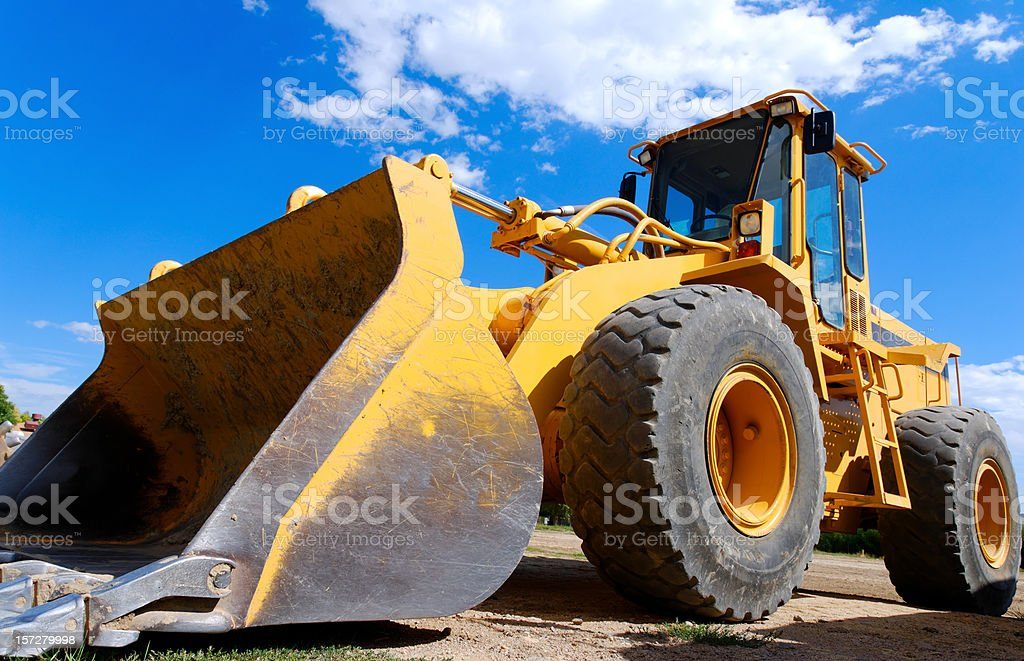 Front End Loader 3 royalty-free stock photo