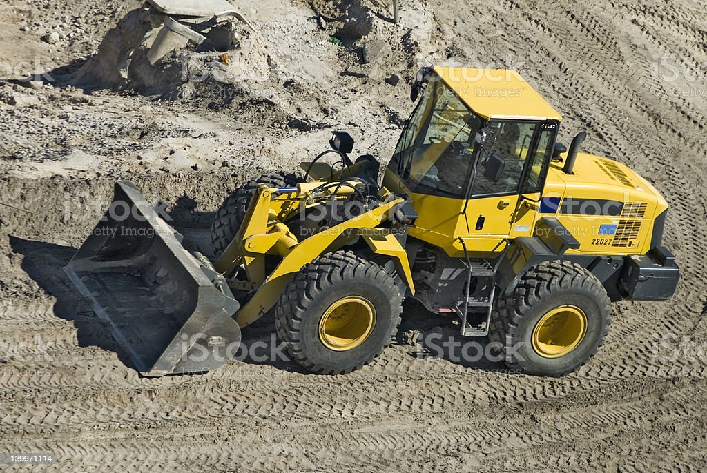 Front End Loader stock photo
