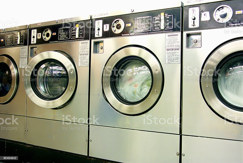 Front Loader Washers royalty-free stock photo