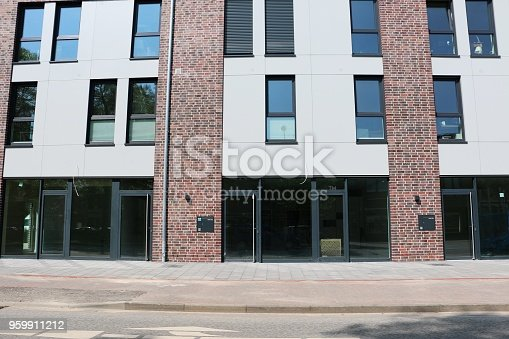 178842131 istock photo front of an apartment building 959911212