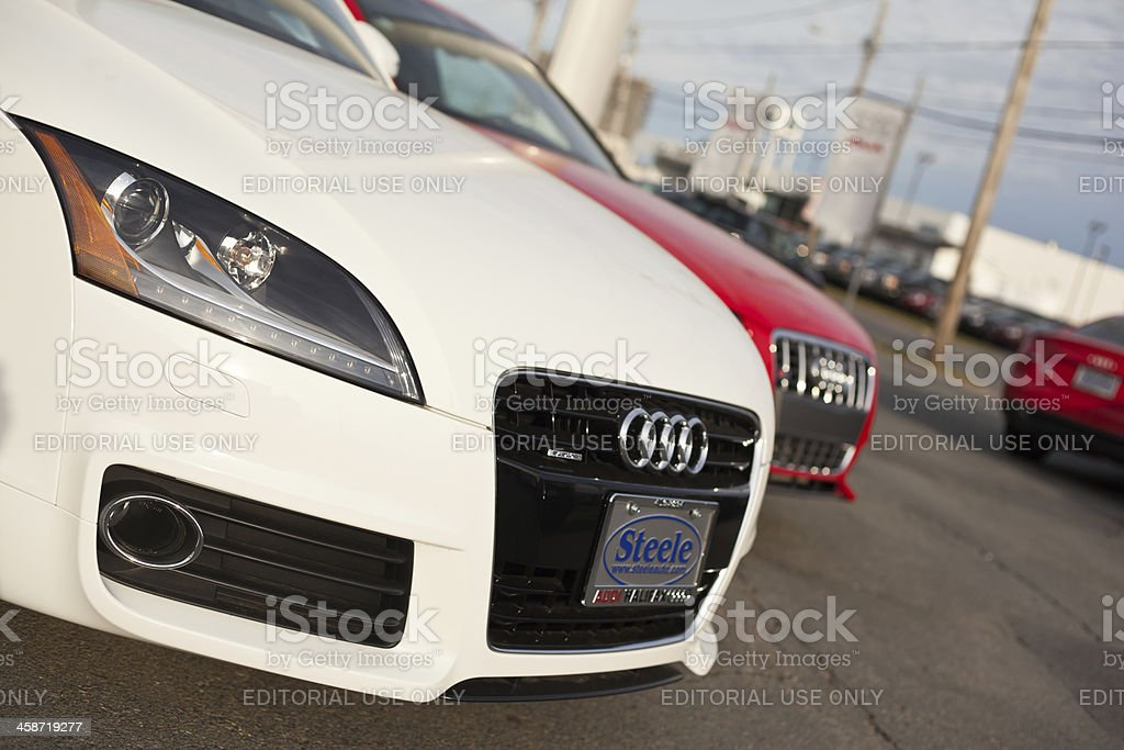 Front Of Audi Tt And S4 Cars Stock Photo Download Image Now Istock