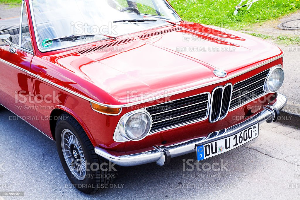 Front Of Old Bmw 1600 Convertible Car Stock Photo Download Image Now Istock