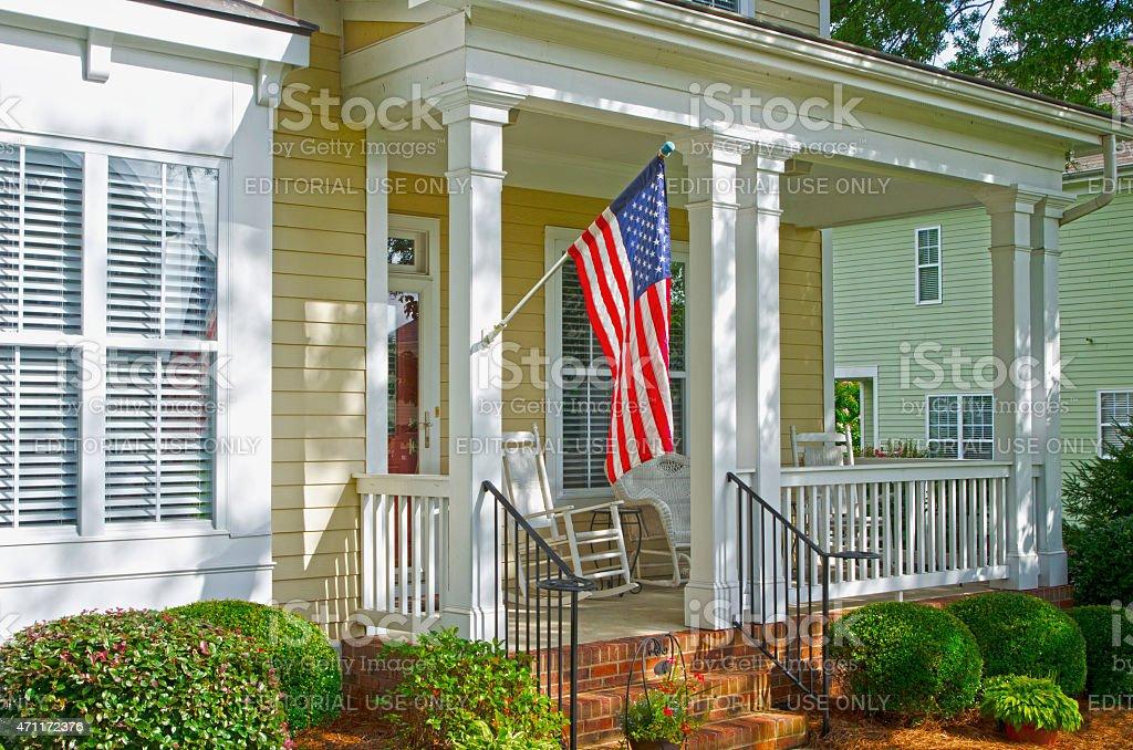 McAdenville, North Carolina, USA - July 6, 2013: The American Dream...