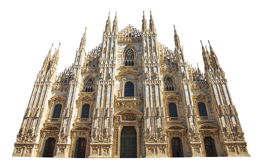 front square Duomo cathedral