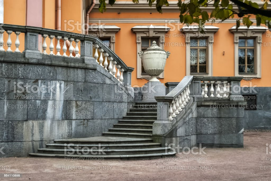 Front staircase. royalty-free stock photo