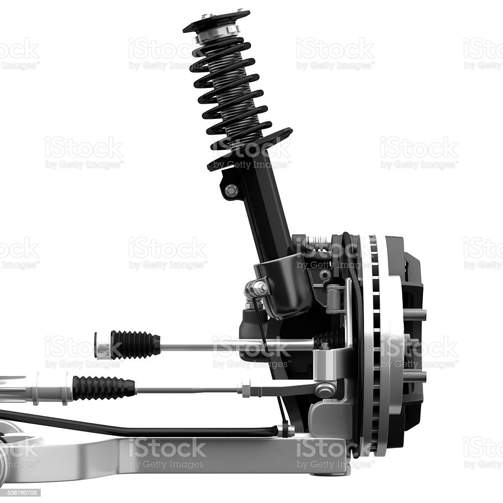 Front Suspension stock photo