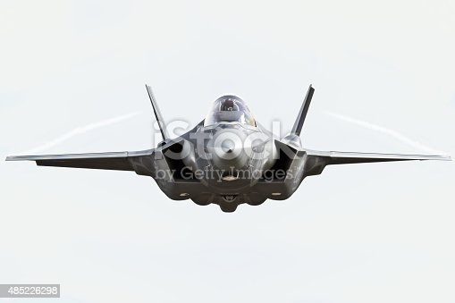 1145066973 istock photo F35 front view close up 485226298