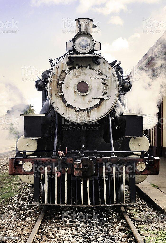 Fotografía de Vista De Frente Del Principio Activo Motor Locomotora ...