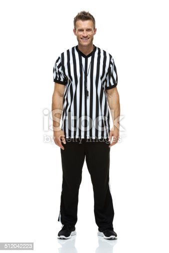 Front view of American football refereehttp://www.twodozendesign.info/i/1.png