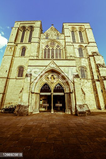 Front View Of Chichester Cathedral