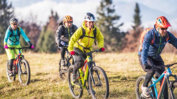 Vorderansicht der vier Freunde Mountainbike – Foto