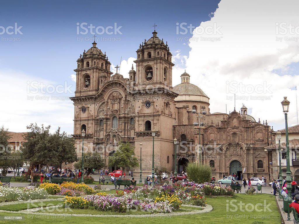 Front view of the Cath stock photo