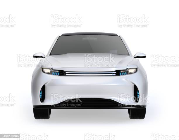 Front view of white electric suv concept car isolated on white picture id933297804?b=1&k=6&m=933297804&s=612x612&h=pxycsv9jdjswppezhtw0khydh2nep1tailtv5ewcnlm=