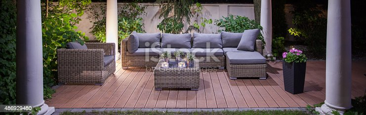 istock Front view on patio 486929480