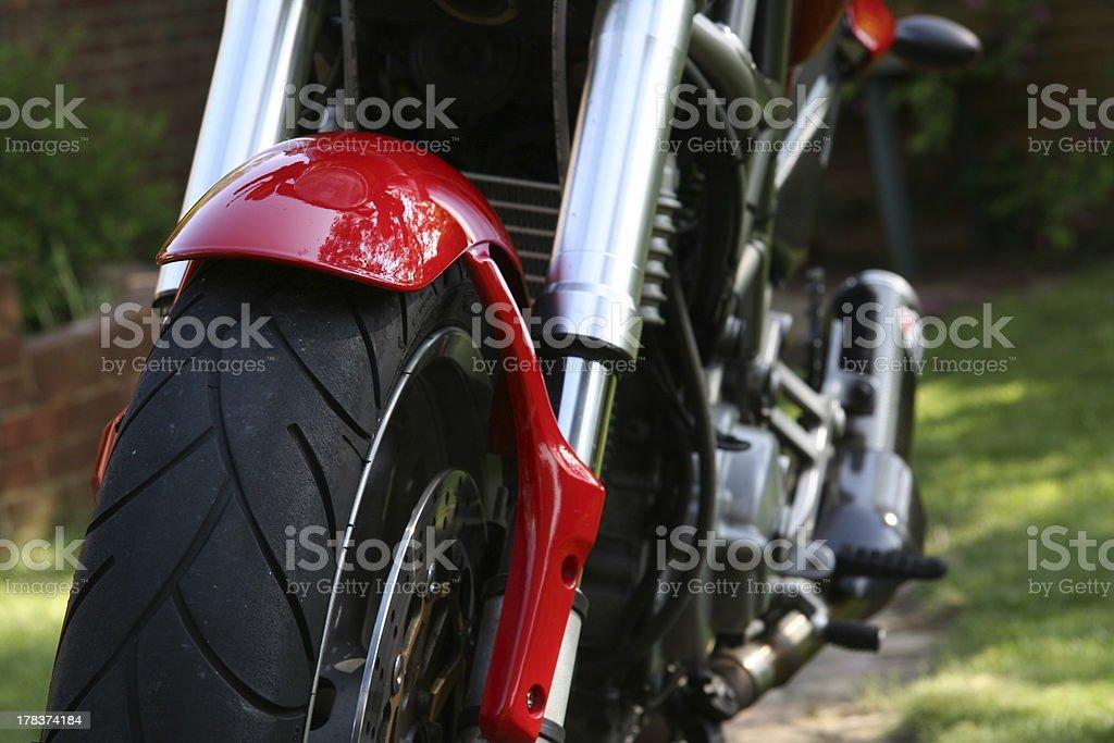 Front Wheel stock photo