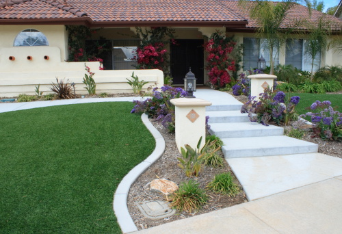 See my other waterwise landscaping here: